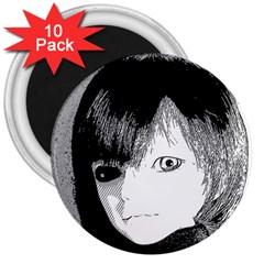Boy 3  Magnets (10 Pack)  by snowwhitegirl