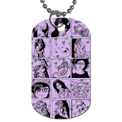Lilac Yearbook 2 Dog Tag (two Sides) by snowwhitegirl