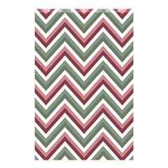 Chevron Blue Pink Shower Curtain 48  X 72  (small)  by snowwhitegirl