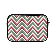 Chevron Blue Pink Apple Ipad Mini Zipper Cases by snowwhitegirl
