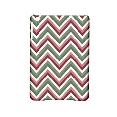 Chevron Blue Pink Ipad Mini 2 Hardshell Cases by snowwhitegirl