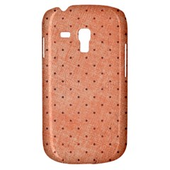 Dot Peach Galaxy S3 Mini by snowwhitegirl