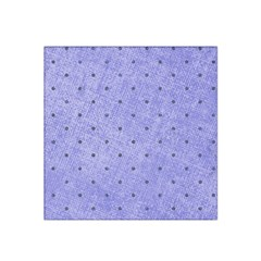 Dot Blue Satin Bandana Scarf by snowwhitegirl