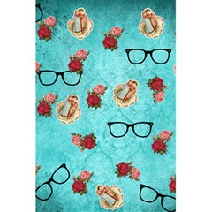 Vintage Glasses Blue 5 5  X 8 5  Notebooks by snowwhitegirl