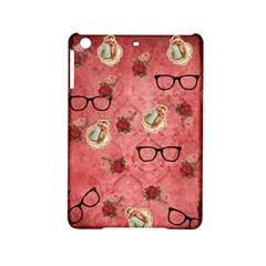 Vintage Glasses Rose Ipad Mini 2 Hardshell Cases by snowwhitegirl