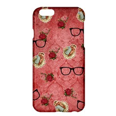 Vintage Glasses Rose Apple Iphone 6 Plus/6s Plus Hardshell Case by snowwhitegirl