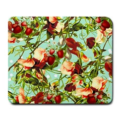 Fruit Blossom Large Mousepads by snowwhitegirl