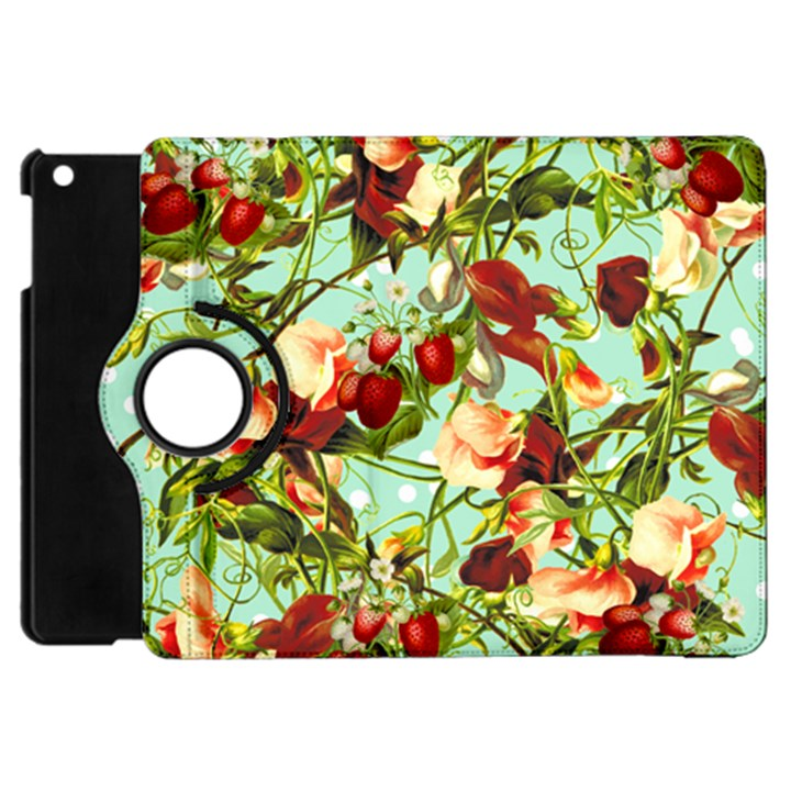 Fruit Blossom Apple iPad Mini Flip 360 Case