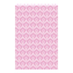 Damask Pink Shower Curtain 48  X 72  (small)  by snowwhitegirl