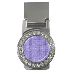 Knitted Wool Lilac Money Clips (cz)  by snowwhitegirl