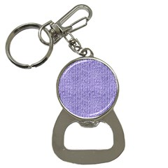 Knitted Wool Lilac Button Necklaces