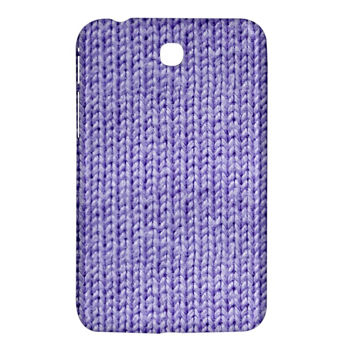 Knitted Wool Lilac Samsung Galaxy Tab 3 (7 ) P3200 Hardshell Case