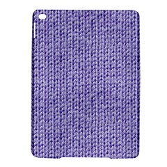 Knitted Wool Lilac Ipad Air 2 Hardshell Cases by snowwhitegirl