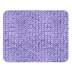 Knitted Wool Lilac Double Sided Flano Blanket (large)  by snowwhitegirl