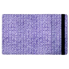 Knitted Wool Lilac Apple Ipad Pro 9 7   Flip Case by snowwhitegirl
