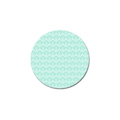 Damask Aqua Green Golf Ball Marker by snowwhitegirl