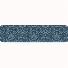 Damask Blue Large Bar Mats by snowwhitegirl