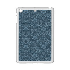 Damask Blue Ipad Mini 2 Enamel Coated Cases by snowwhitegirl