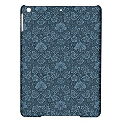 Damask Blue Ipad Air Hardshell Cases by snowwhitegirl