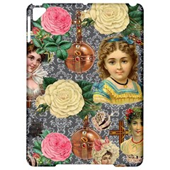 Damask Religious Victorian Grey Apple Ipad Pro 9 7   Hardshell Case by snowwhitegirl