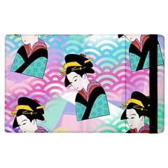 Japanese Abstract Apple Ipad 2 Flip Case by snowwhitegirl
