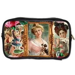 Victorian Collage Of Woman Toiletries Bags 2 Side by snowwhitegirl