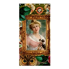 Victorian Collage Of Woman Shower Curtain 36  X 72  (stall)  by snowwhitegirl