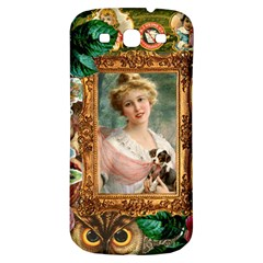 Victorian Collage Of Woman Samsung Galaxy S3 S Iii Classic Hardshell Back Case by snowwhitegirl