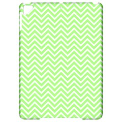 Green Chevron Apple Ipad Pro 9 7   Hardshell Case by snowwhitegirl