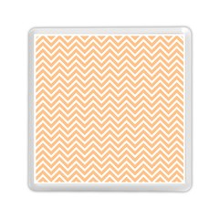 Orange Chevron Memory Card Reader (square)  by snowwhitegirl
