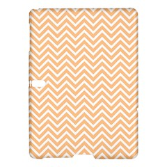 Orange Chevron Samsung Galaxy Tab S (10 5 ) Hardshell Case