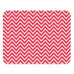 Red Chevron Double Sided Flano Blanket (Large)   Blanket Back