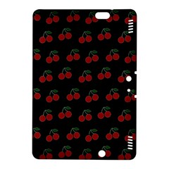 Cherries Black Kindle Fire Hdx 8 9  Hardshell Case by snowwhitegirl