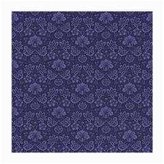 Damask Purple Medium Glasses Cloth by snowwhitegirl