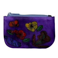 Flowers Large Coin Purse