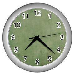 Background 1215199 960 720 Wall Clocks (silver)  by vintage2030