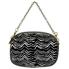 Dark Abstract Pattern Chain Purses (one Side)  by dflcprints