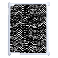 Dark Abstract Pattern Apple Ipad 2 Case (white) by dflcprints
