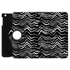 Dark Abstract Pattern Apple Ipad Mini Flip 360 Case by dflcprints