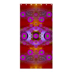 Shimmering Pond With Lotus Bloom Shower Curtain 36  X 72  (stall)  by pepitasart