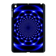 Indigo Lotus  Apple Ipad Mini Case (black) by vwdigitalpainting