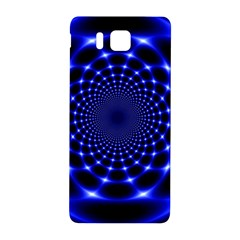 Indigo Lotus  Samsung Galaxy Alpha Hardshell Back Case by vwdigitalpainting
