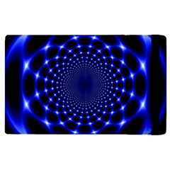 Indigo Lotus  Apple Ipad Pro 9 7   Flip Case by vwdigitalpainting