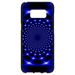 Indigo Lotus  Samsung Galaxy S8 Black Seamless Case