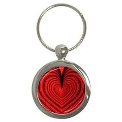 Ruby s Love 20180214072910091 Key Chains (round)  by ThePeasantsDesigns
