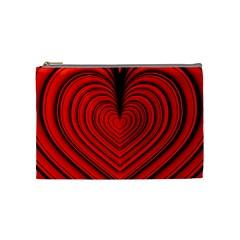 Ruby s Love 20180214072910091 Cosmetic Bag (medium)  by ThePeasantsDesigns