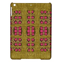 Bloom In Gold Shine And You Shall Be Strong Ipad Air Hardshell Cases by pepitasart