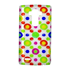 Multicolored Circles Motif Pattern Lg G4 Hardshell Case by dflcprints