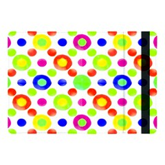 Multicolored Circles Motif Pattern Apple Ipad Pro 10 5   Flip Case by dflcprints