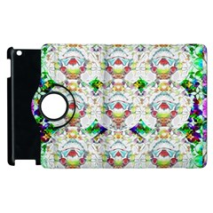 Nine Little Cartoon Dogs In The Green Grass Apple Ipad 2 Flip 360 Case by pepitasart